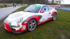 Porsche 997 na Pražském rallysprintu s Vizus Communication